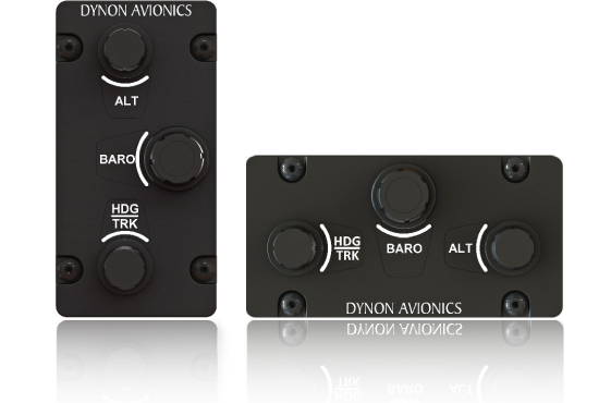 Dedicated knobs for the bugs you use most with SkyView